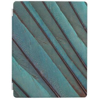 Protection iPad Conception de plume de martin-pêcheur de turquoise