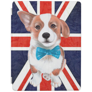 Protection iPad Corgi anglais