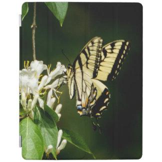 Protection iPad Couverture d'iPad de papillon de machaon de tigre