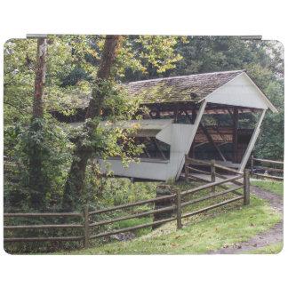 Protection iPad Couverture d'iPad de pont couvert