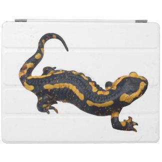 Protection iPad Couverture d'iPad de salamandre de feu
