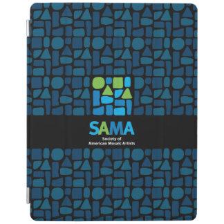 Protection iPad Couverture d'ipad de SAMA - art de mosaïque