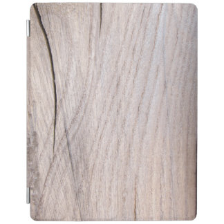 Protection iPad Couverture intelligente de grain d'iPad en bois de