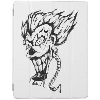 Protection iPad Couverture intelligente d'iPad mauvais de clown