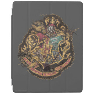 Protection iPad Crête vintage de Harry Potter | Hogwarts