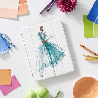 Protection iPad Croquis de mode de couture d'Apple sauvage | Haute