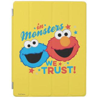 Protection iPad Dans les monstres nous faisons confiance !