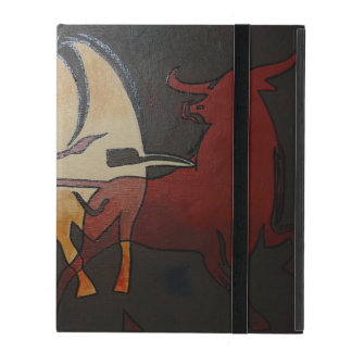 Protection iPad Deux combats de taureaux