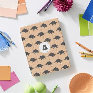 Protection iPad Dinosaures gris à la mode de Stegosaurus