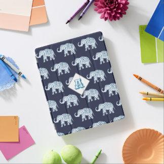 Protection iPad Éléphants de Bohème de Lotus