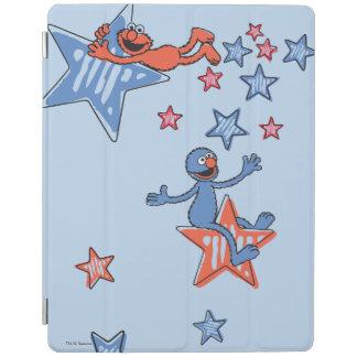 Protection iPad Elmo et Grover parmi les étoiles