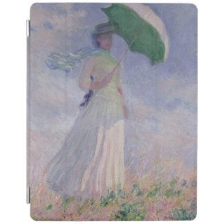 Protection iPad Femme de Claude Monet | avec un parasol tourné à