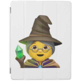 Protection iPad Femme Mage - Emoji