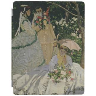 Protection iPad Femmes de Claude Monet | dans le jardin