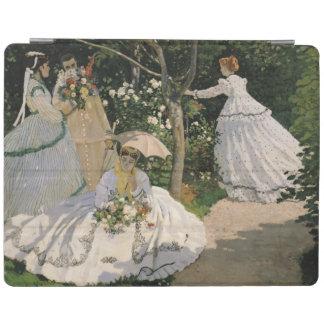 Protection iPad Femmes de Claude Monet | dans le jardin, 1866