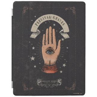 Protection iPad Graphique magique de main de tombes de Perceval