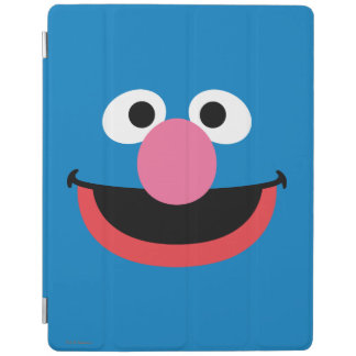 Protection iPad Grover font face à l'art