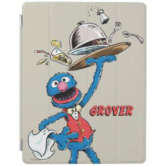 Protection iPad Grover vintage le serveur