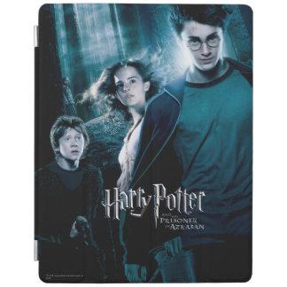 Protection iPad Harry Potter Ron Hermione dans la forêt