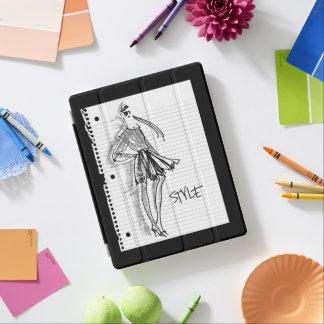 Protection iPad Icône de style d'Apple sauvage | - croquis moderne