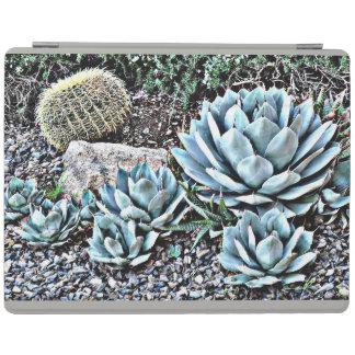 Protection iPad Jardin de cactus dans la couverture intelligente