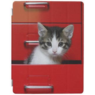 Protection iPad Jeter un coup d'oeil de chaton