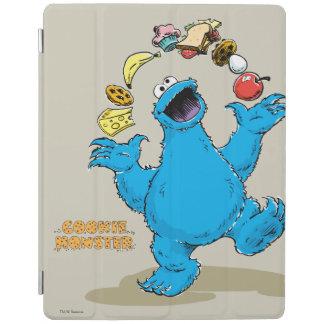Protection iPad Jonglerie vintage de monstre de biscuit