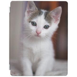 Protection iPad Kitty repéré par blanc