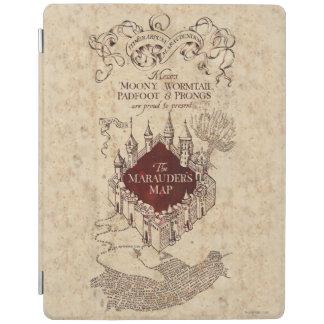 Protection iPad La carte du maraudeur du charme | de Harry Potter