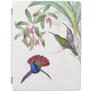Protection iPad La faune d'oiseaux de colibri fleurit la