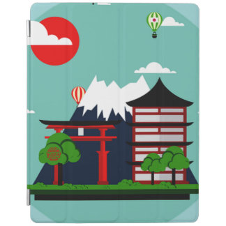 Protection iPad Le Japon, conception de l'industrie graphique