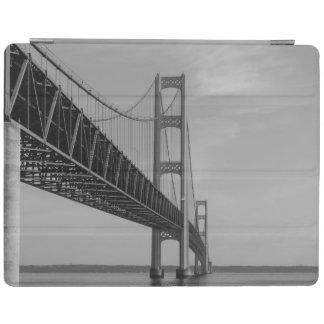Protection iPad Le long de la gamme de gris de pont de Mackinac