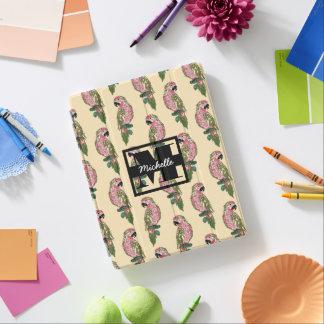 Protection iPad Le style de Zentangle Parrots le monogramme de  