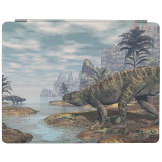 Protection iPad Les dinosaures -3D de Batrachotomus rendent