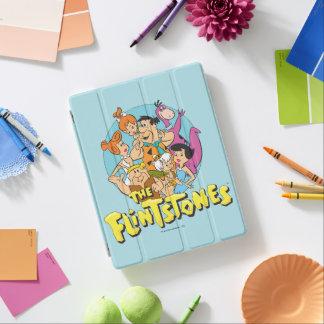 Protection iPad Les Flintstones et le graphique de famille de