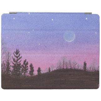 Protection iPad Lune et étoiles
