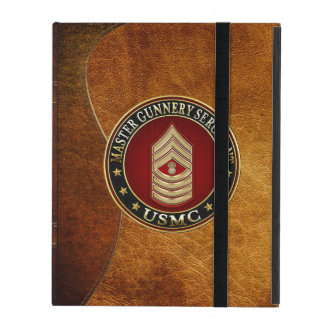Protection iPad Marines des USA : Sergent d'artillerie principal