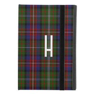 Protection iPad Mini 4 Cas 4 d'iPad fait sur commande de plaid de Hargis