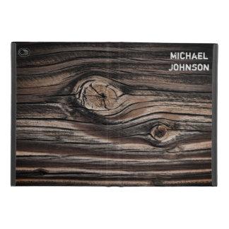 Protection iPad Mini 4 Motif en bois personnalisé de grain