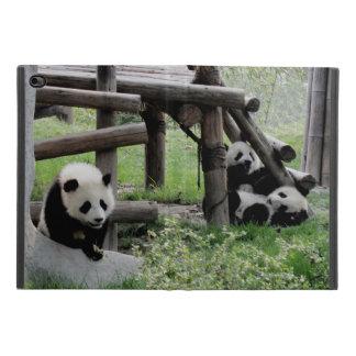 Protection iPad Mini 4 Trois pandas de bébé
