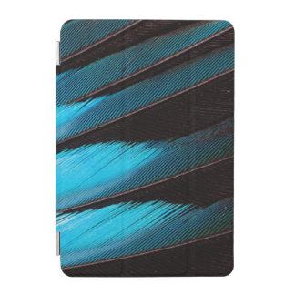 Protection iPad Mini Abrégé sur Bleu-Gonflé plume de rouleau