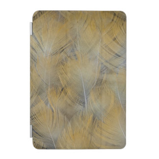 Protection iPad Mini Abrégé sur d'or plume de grive