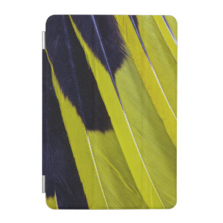 Protection iPad Mini Abrégé sur jaune et noir plume