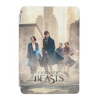 Protection iPad Mini Affiche fantastique de brouillard de ville de