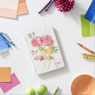 Protection iPad Mini Ajoutez votre marguerite blanche du monogramme |
