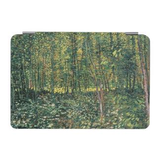 Protection iPad Mini Arbres de Vincent van Gogh | et broussaille, 1887