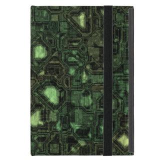 Protection iPad Mini Arrière - plan de circuit d'ordinateur