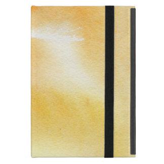 Protection iPad Mini Arrière - plan peint à la main 5 d'aquarelle
