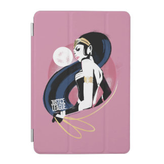 Protection iPad Mini Art de bruit de profil de femme de merveille de la