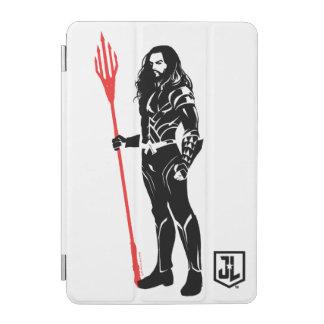 Protection iPad Mini Art de bruit Noir de pose de la ligue de justice |